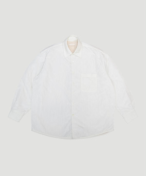 OUR LEGACY Tech Borrowed Jacket   Padded White M4192TPW