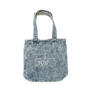 scar /////// OG DENIM TOTE BAG (Chemical Wash Denim)