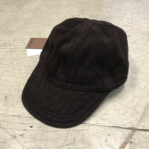 BEAUGAN 6 PANEL HAT CHOCOLATE
