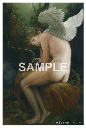 ポストカード「休息する天使」