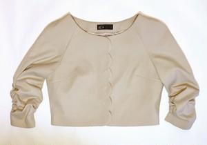 【エスプリガール】スカラップジャケット