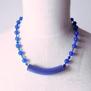 ブルーメノウのネックレス