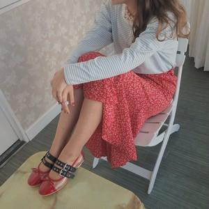 【Popteen掲載】french girl flower skirt