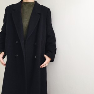 Made in Italy Cashmere Wool Nylon Long Coat