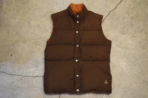 USED 70s GERRY Down vest -XLarge V0762