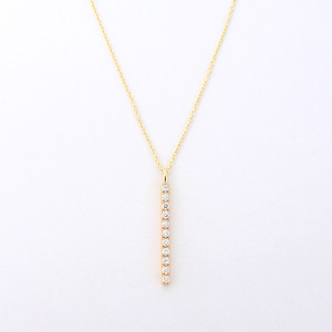 Go straight necklace