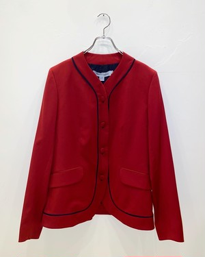 SS2001 MIGUEL ADROVER COLLARLESS JACKET