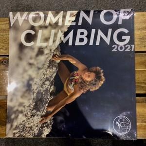 【WOMEN of CLIMBINGカレンダー2021年】