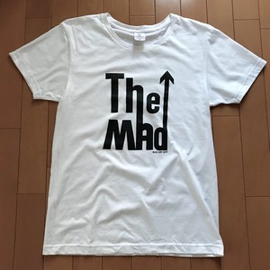 The MAD  T-Sirts Black Print on White