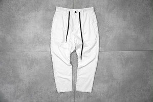 ASKYY / LAYERED ANKLE EASY PANTS / WHT