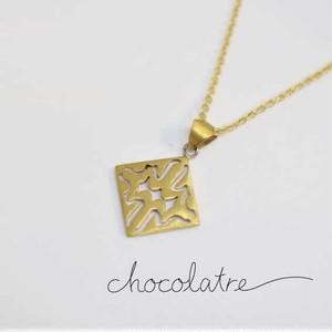 chocolatre「ロシェ」ブラスペンダント