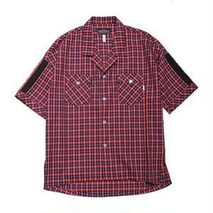 quolt / NEON SHIRTS / RED-NAVY