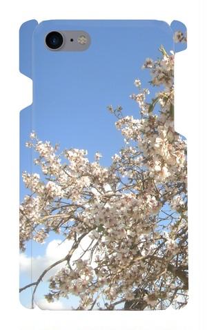 【スマホケース(i phone7)】春のアーモンド