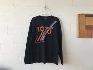 Project L/S Tee BLACK // 1975tokyo