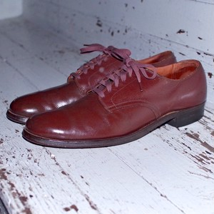 1947s US ARMY Officer Dress Oxford Shoes Brown  Size 10A / 40年代 サービスシューズ 茶色