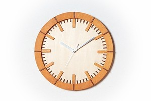 「モダン」木製掛け時計