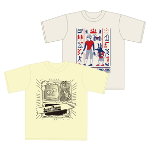 Tシャツ2枚セット【イエロー/ベージュ】