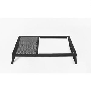 auvil black lounge twin table ブラックラウンジツインテーブル