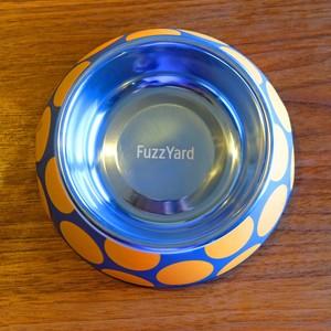FuzzYard 犬用 食器 バブルオレンジ (M)