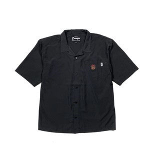 BB BEAR EMBROIDERY SHIRT / BLACK