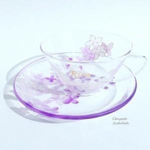 【母の日プレゼント】紫ライラックティーカップ1つ|母の日ギフト・還暦祝い・退職祝い・誕生日プレゼント