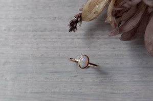 K10YG Colore ring「オパール」