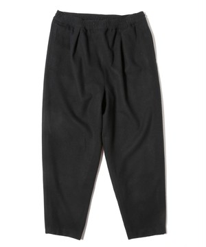 yoshiokubo WOOL TUCK PANTS Black YKF20408
