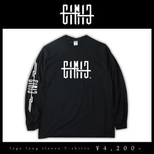 【EIMIE】logo long sleeve T-shirts