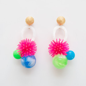 Neo Eccentric pierces -sea anemones-