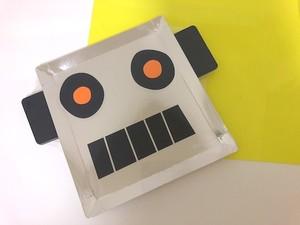 メタリックロボットパーパープレート ( Lサイズ ) / Meri Meri