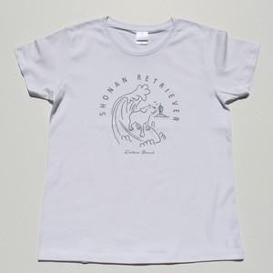 【ペアルック!】Surf Dogデザイン LADYSヒト用Tシャツ【オリジナルデザイン vol.2】