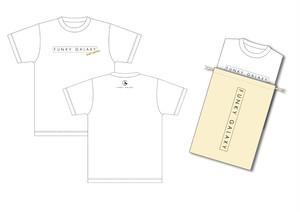 Tシャツ&巾着(White)