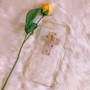 cross iPhone case (天然石)