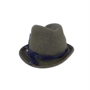 hntbk RRFW1926 fedora fur felt hat (MOSS)