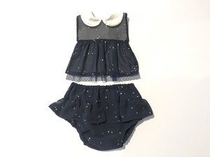 Leapepe - Apron & Bloomer set / レアぺぺ - エプロン&ブルマ・セット [ STELLA  navy / GIRL ]