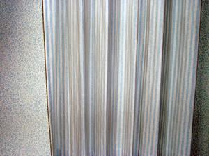 西海岸テイスト 自然素材カーテン  Riverリバー401505 BL