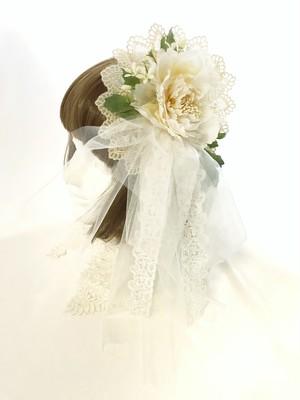 ヘッドドレス&コサージュ(IV×WHY)