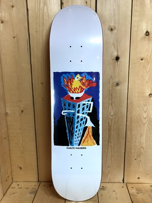 "POLAR SKATE CO HJALTE HALBERG - Burning Zinc 8.0"" X 31.875"""