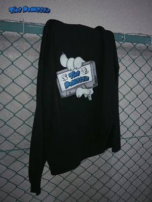 "The Domestic ""CASSETTE LOGO"" Long-shirt [black]"