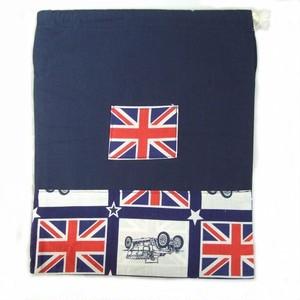 車と国旗の巾着(KT104)