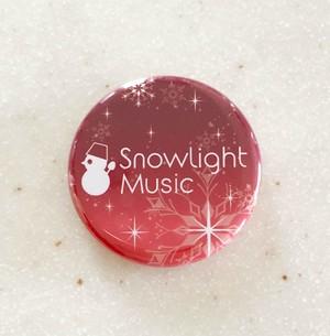 【缶マグネット】Snowlight Music(赤)
