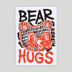 Rob Kidney/BEAR HUG zine