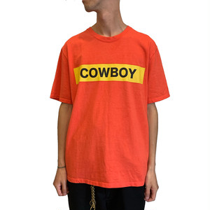 COWBOY S/S T-shirt <red> 【ChahChah】