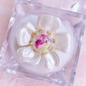 【ring】Botanical glass〜YUKInoHANA〜