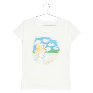 shine woman Tshirts 諸鈍 Lady's