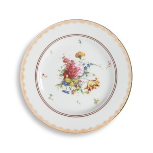 &k amsterdam - Plate - Floral Rose Large