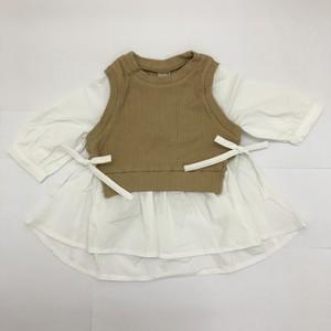 petit main プティマイン ベストドッキングシャツ 9611209