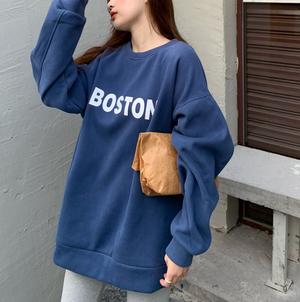 Boston logo sweatshirt LD0361