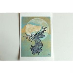 月蛙 ポストカード 『月よりの使者』 10007