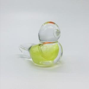 【コトリガラス くりまり】愛鳥羽根スタンド 小⑦
